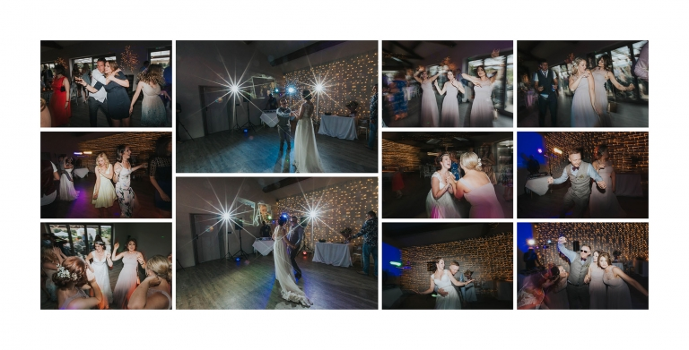 yorkshire wedding barn photographer | dancefloor action!