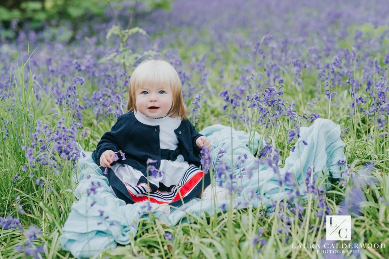 Ilkley family photography | family photo shoot at bluebell woods in Ilkley by Laura Calderwood Photography