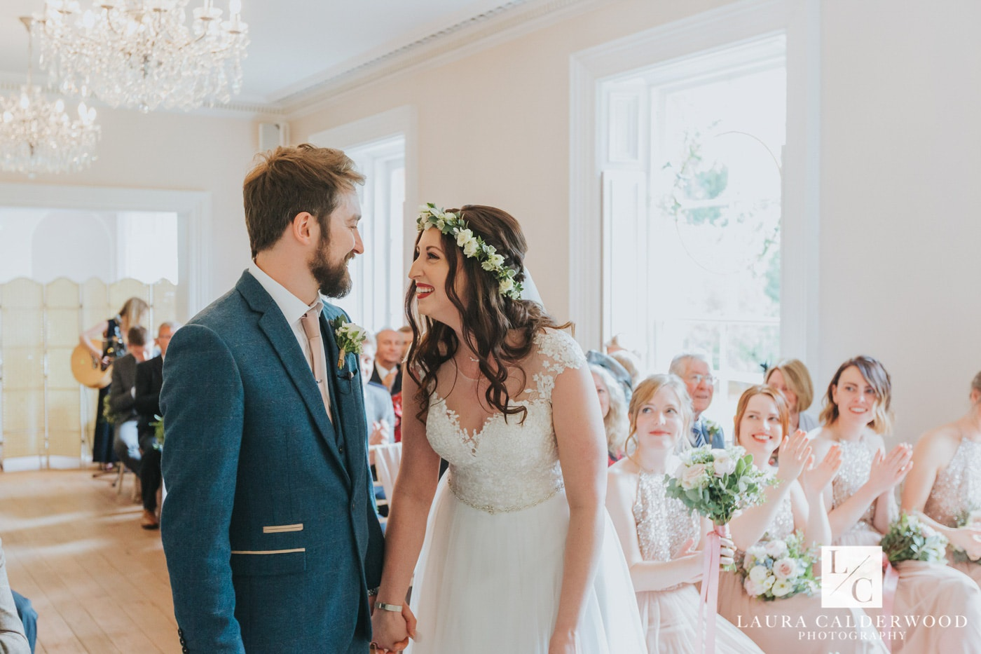 yorkshire wedding photography at hirst priory