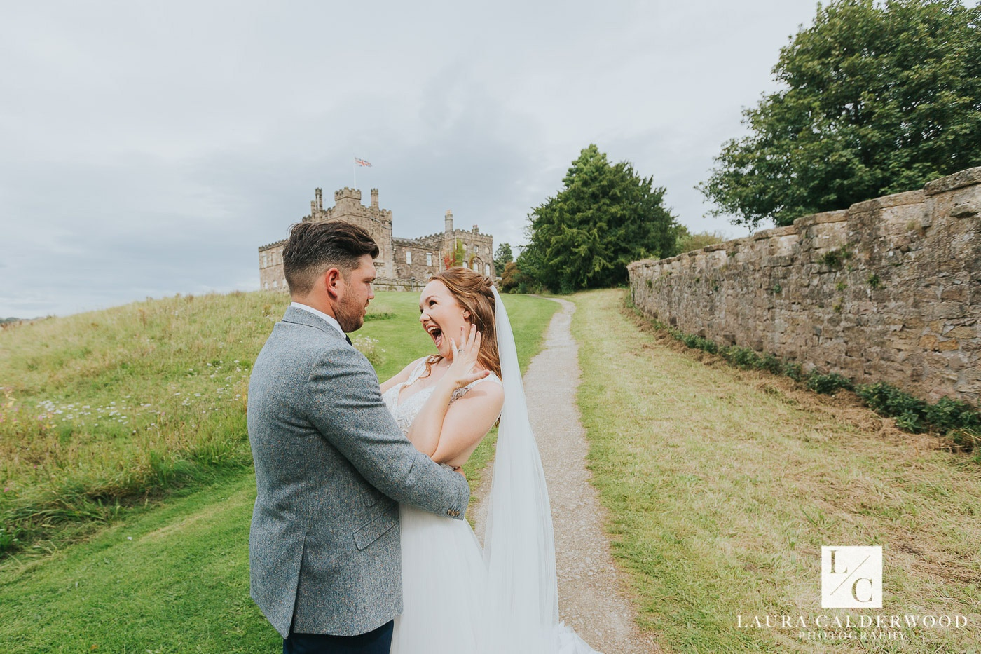 yorkshire wedding photography at ripley castle