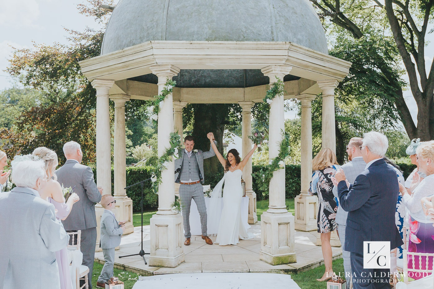 yorkshire wedding photography at wentworth house