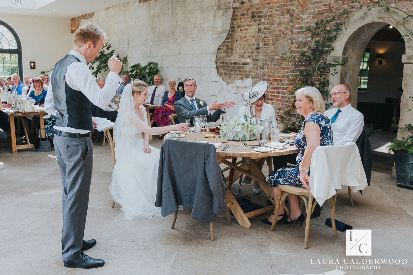 yorkshire wedding photography at the fig house